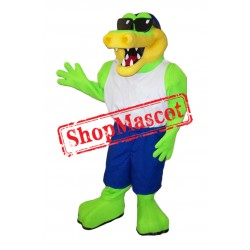 Cool Gator Mascot Costume