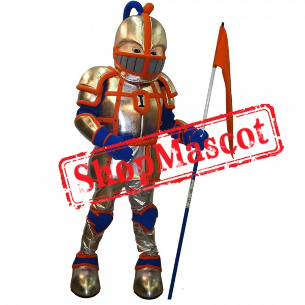College Knight Mascot Costume Free Shipping