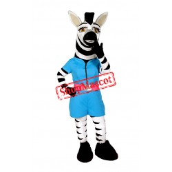 Beautiful Zebra Mascot Costume