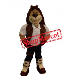 Handsome Lion Mascot Costume