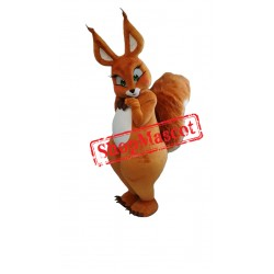 Lovely Squirrel Mascot Costume