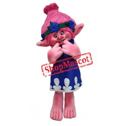 Best Quality Poppy Troll Mascot Costume