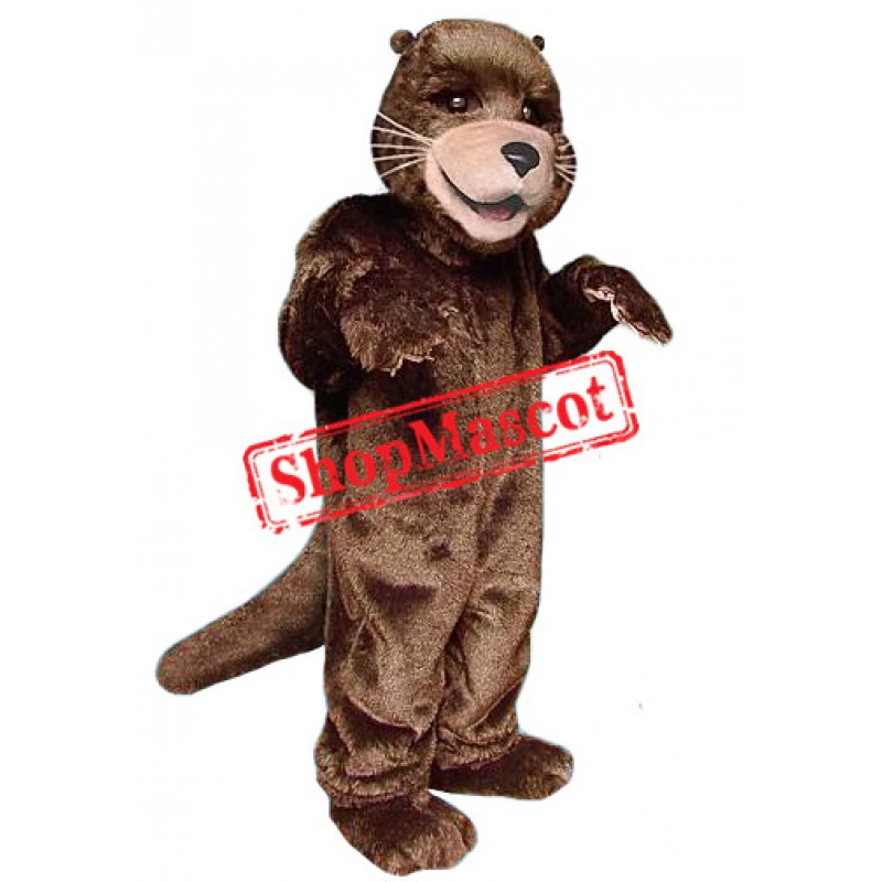 Lovely Otter Mascot Costume