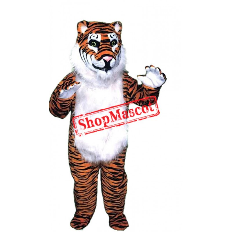 Top Quality Realistic Tiger Mascot Costume