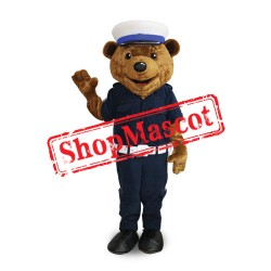High Quality Police Bear Mascot Costume