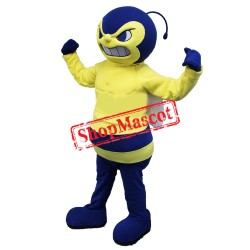 Yellow Boy Bee Mascot Costume