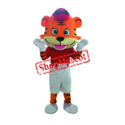 Golf Boy Tiger Mascot Costume