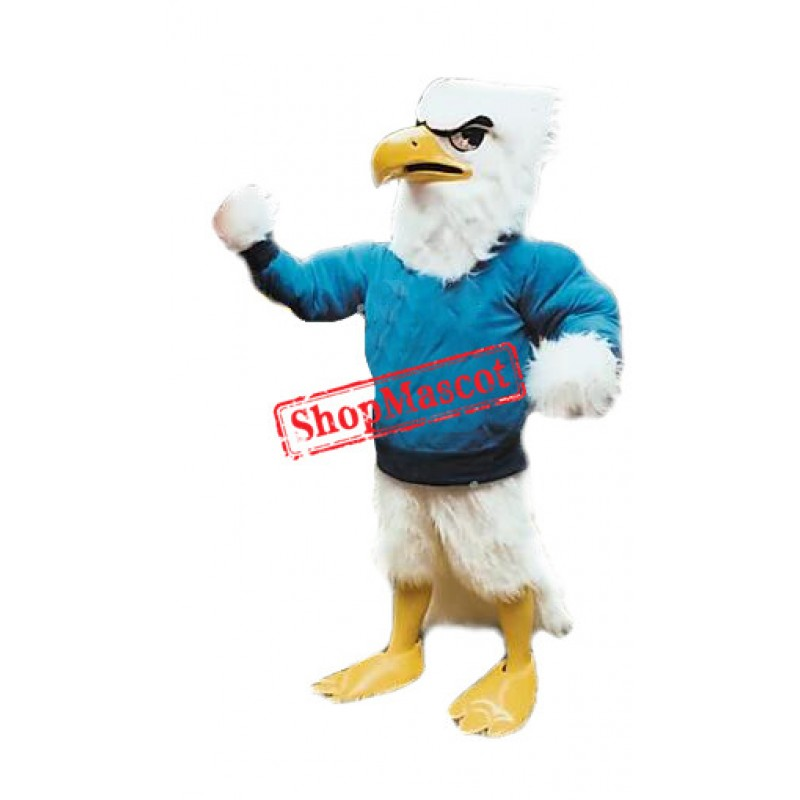 Sporty Eagle Mascot Costume Free Shipping