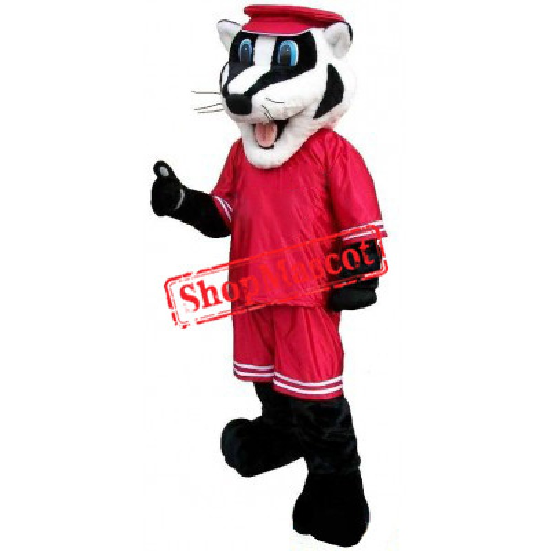 Sport Badger Mascot Costume Free Shipping
