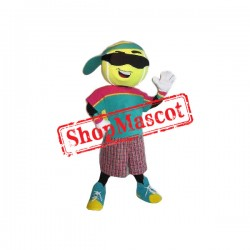 Sport Tennis Ball Mascot Costume
