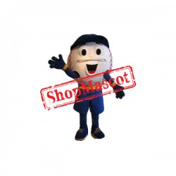 Happy Baseball Mascot Costume Free Shipping