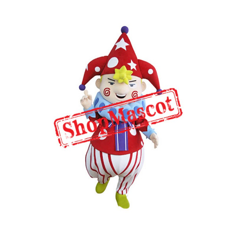 Top Quality Clown Mascot Costume Free Shipping