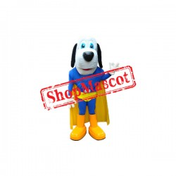 Super Power Dog Mascot Costume