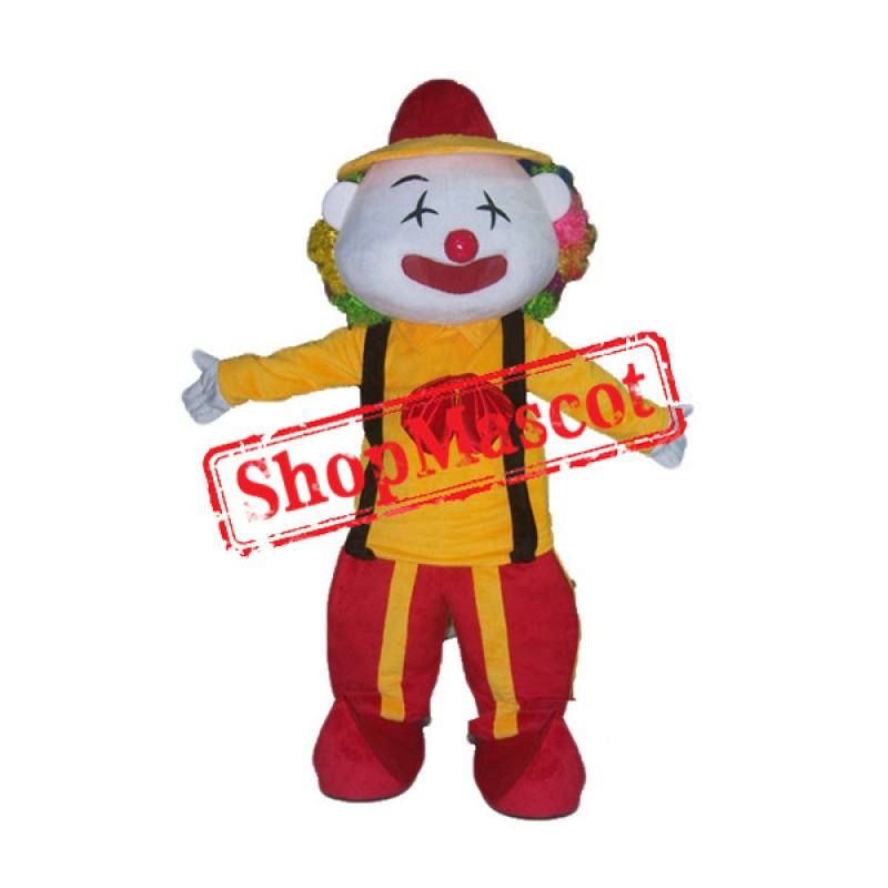 Funny Clown Mascot Costume Free Shipping