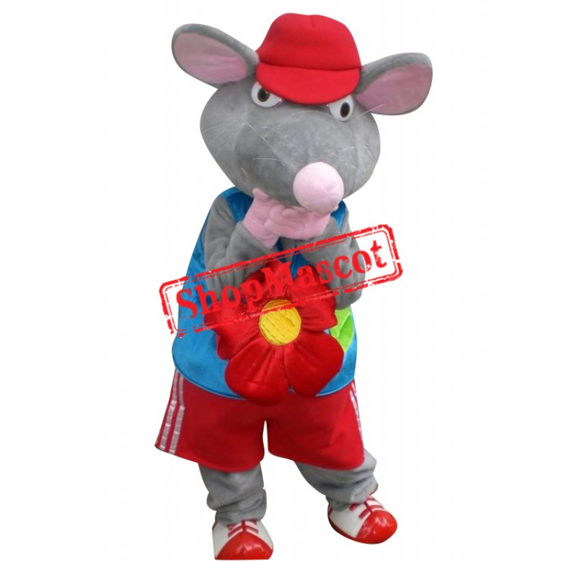 Super Cute Rat Mascot Costume