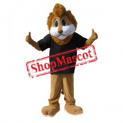 Sporty Lion Mascot Costume