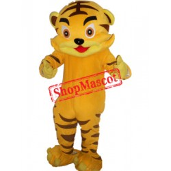 Boy Tiger Mascot Costume