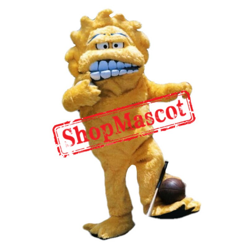 Top Quality Yellow Monster Mascot Costume