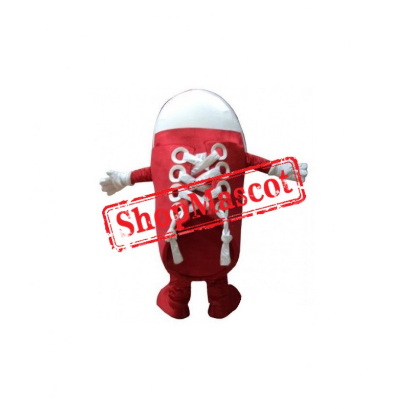 Red Shoes Mascot Costume