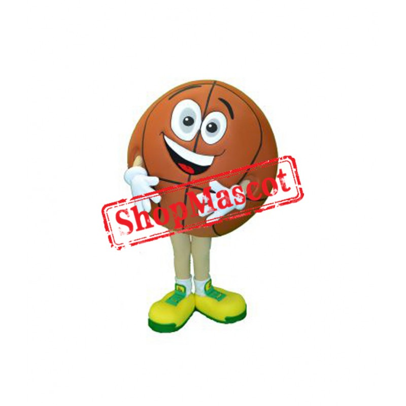 Happy Basketball Mascot Costume