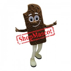 Giant Chocolate Ice Cream Mascot Costume