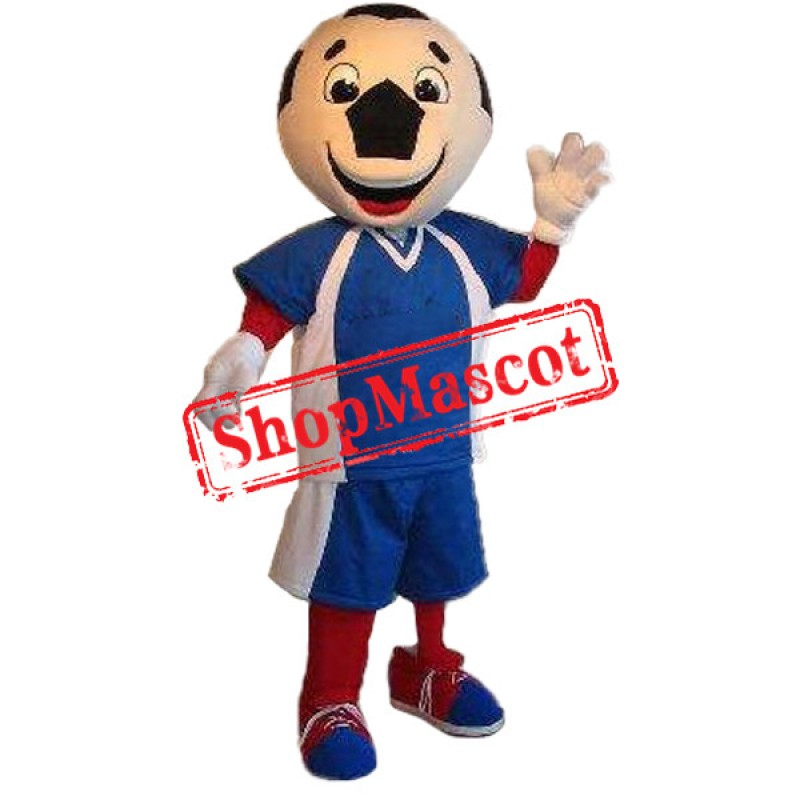 Happy Football Mascot Costume Free Shipping