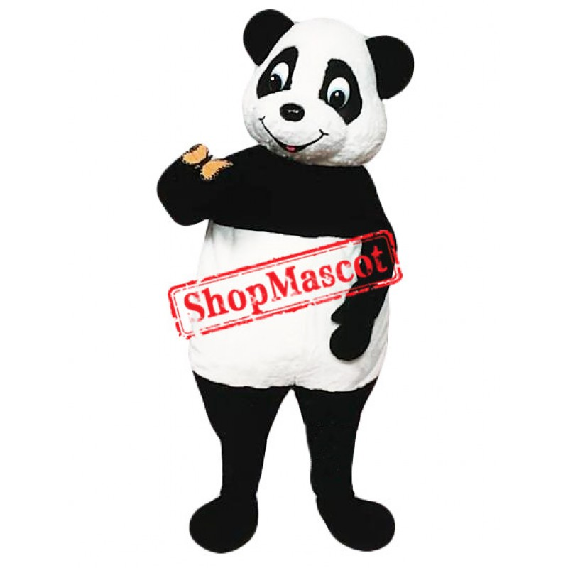 Super Cute Panda Mascot Costume Free Shipping