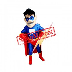 Flash Superhero Mascot Costume