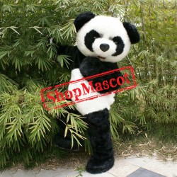 Lovely Panda Mascot Costume Free Shipping