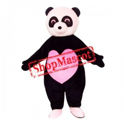 Lovely Pink Panda Mascot Costume