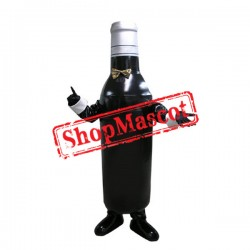 Bottle of Wine Mascot Costume
