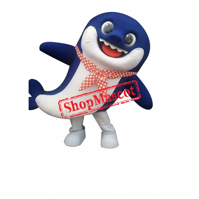 Super Cute Baby Shark Mascot Costume