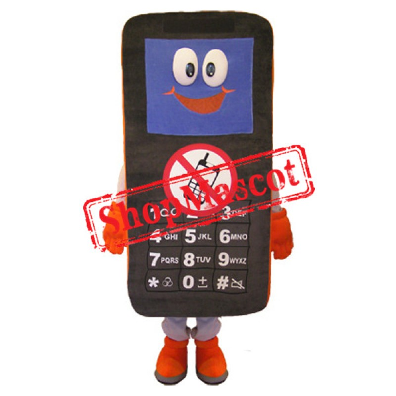 No Phone Calls Mascot Costume