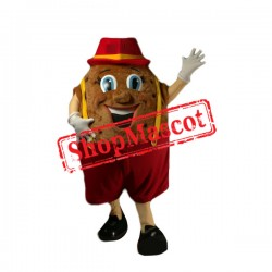Happy Potato Mascot Costume