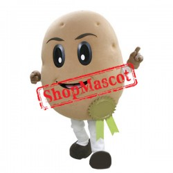 New Potato Mascot Costume