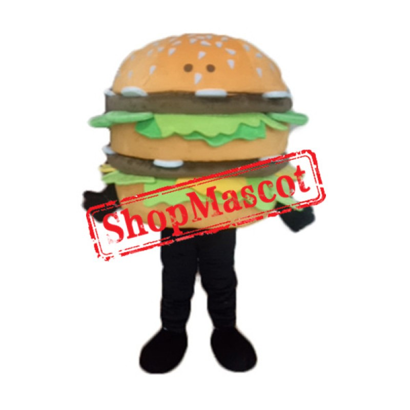 Giant Burger Mascot Costume