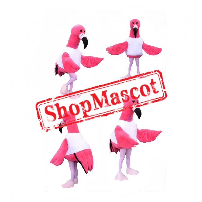 Lovely Flamingo Mascot Costume