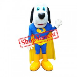 Superhero Dog Mascot Costume