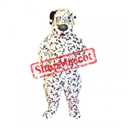 Cute Dalmatian Dog Mascot Costume