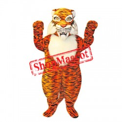 Fierce Realistic Tiger Mascot Costume