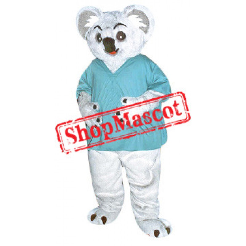 Sport College Bear Mascot Costume