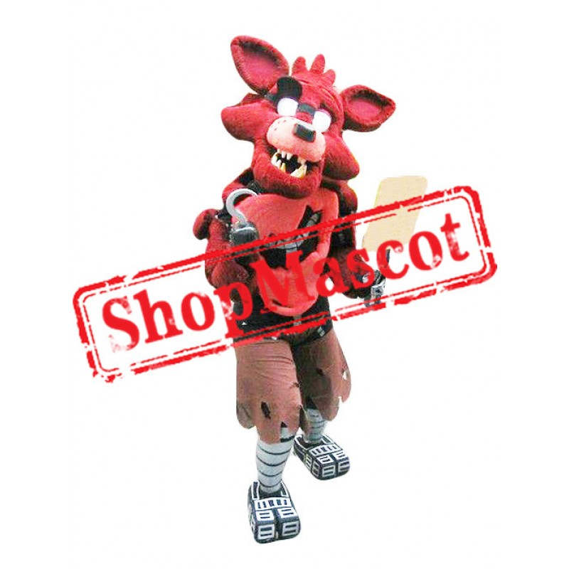 Five Nights At Freddy's Foxy Adult Mascot Costume