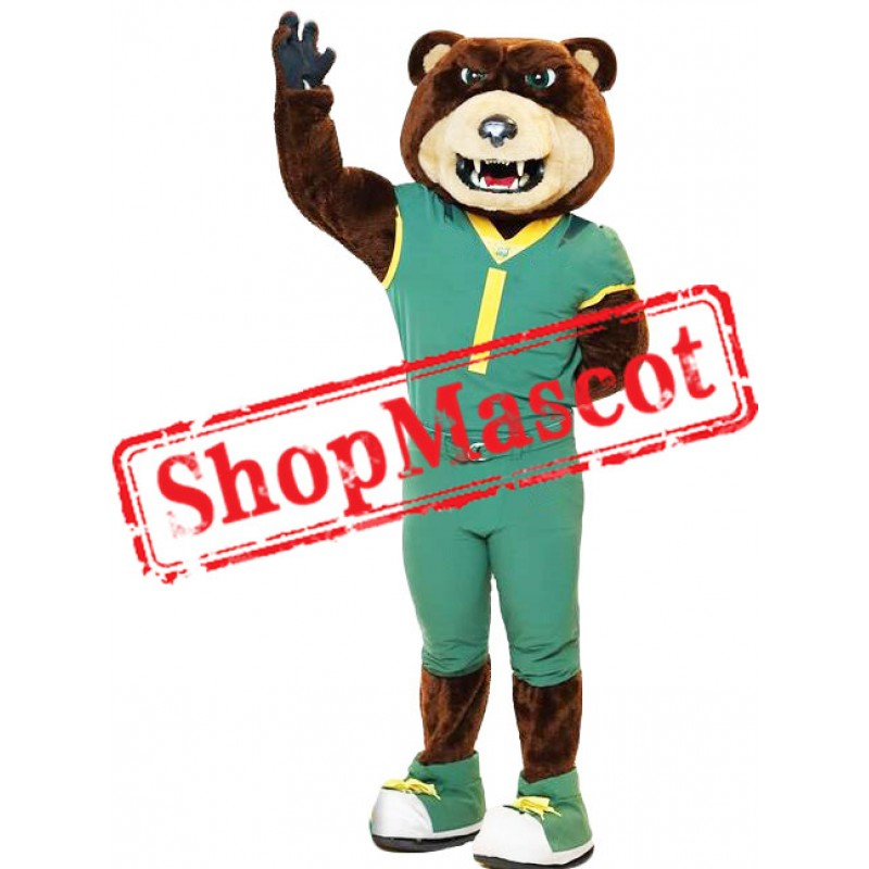 Happy Sport Bear Mascot Costume