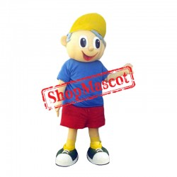 Sport Lightweight Boy Mascot Costume