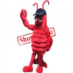Sport Red Lobster Mascot Costume