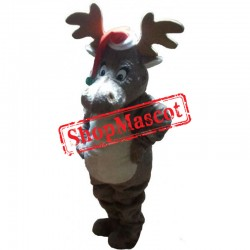 Lovely Christmas Lightweight Reindeer Mascot Costume