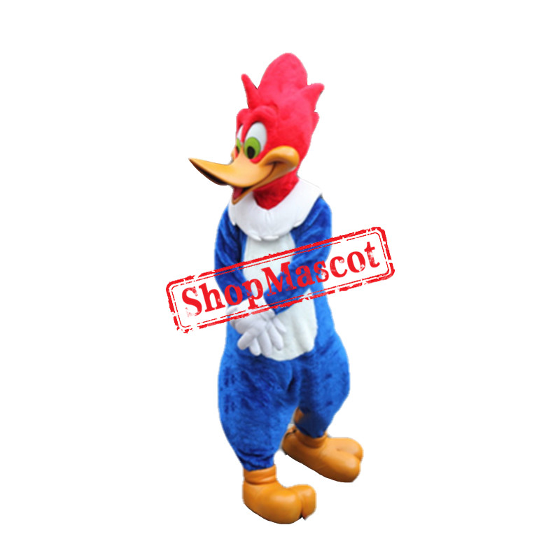 Happy Woodpecker Mascot Costume