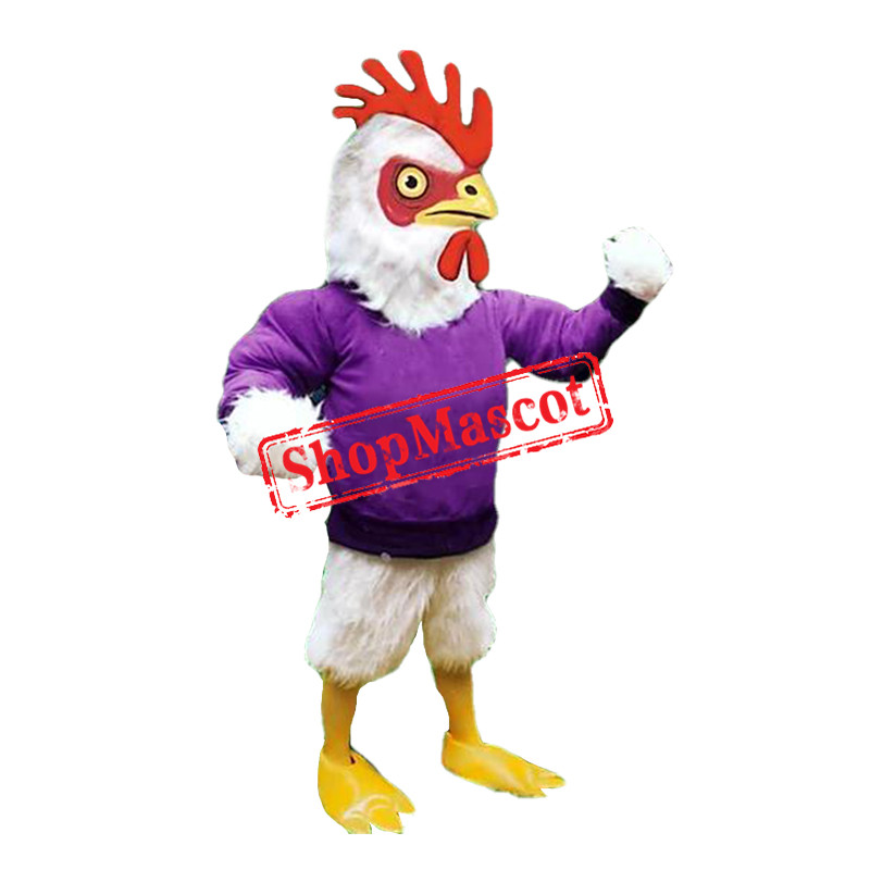 Power Chicken Mascot Costume
