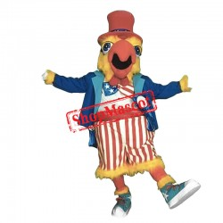 College Chicken Mascot Costume