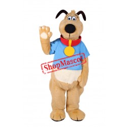 Lovely Brown Dog Mascot Costume